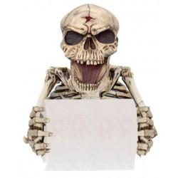 Klopapierhalter Skelett gruselig